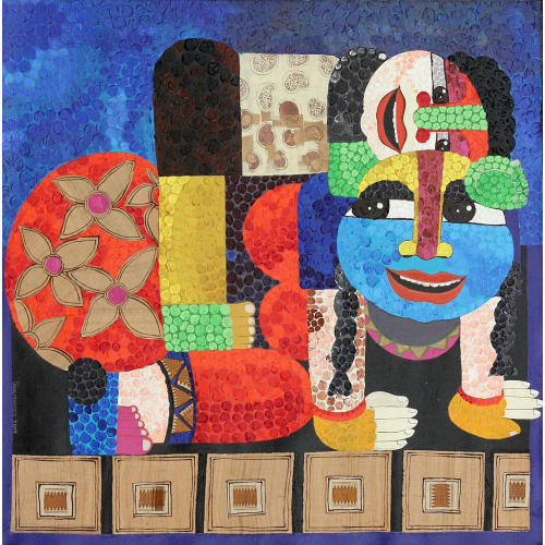 Tanushree Chakraborty figurative painting