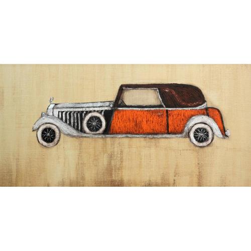 Trupti Joshi Vintage car painting