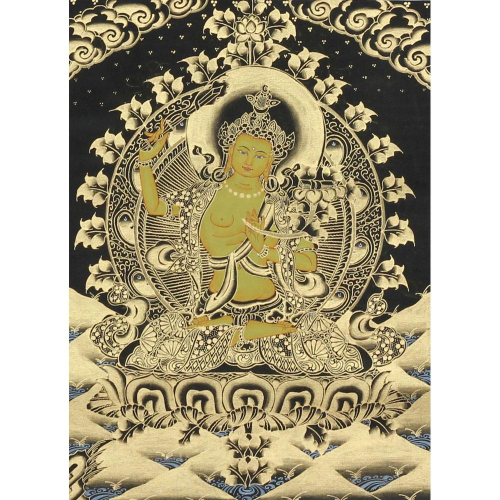 Unsigned thangka painting