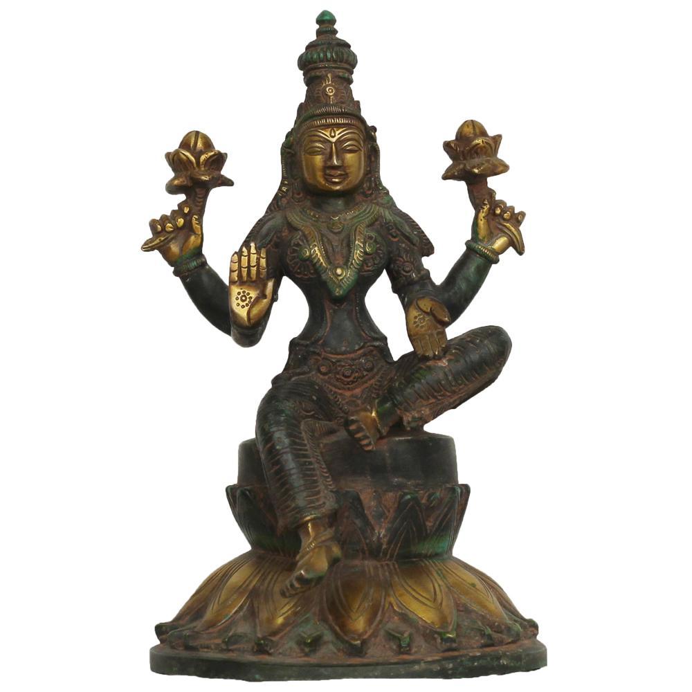 Unsigned laxmi sculpture