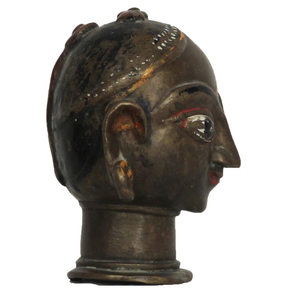 Unsigned gauri head sculpture