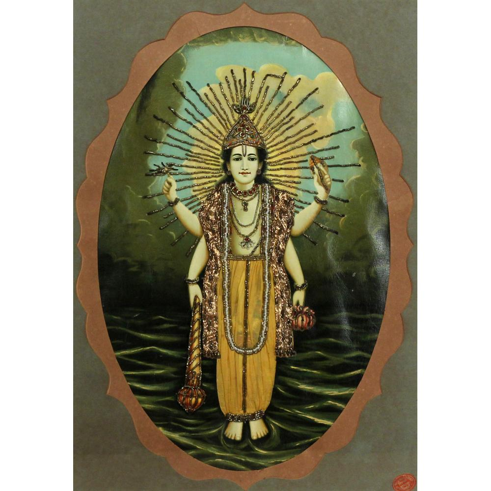 Vasudeo Pandya Figurative painting
