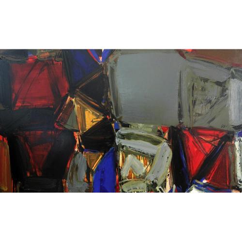 Vijay Achrekar abstract painting