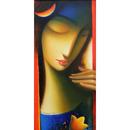 Vijay Belgave figurative painting