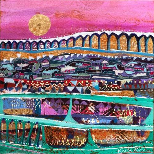 Vinita Karim abstract painting