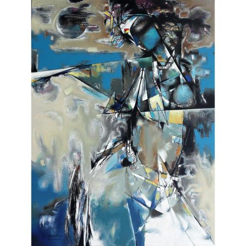 Vishal Phasale figurative painting