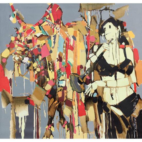 Wilson Souza figurative painting