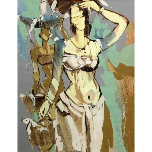 Wilson Dsouza figurative painting