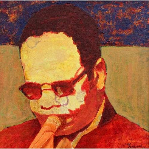 Yadnyesh Shirwadkar trumpeteer painting